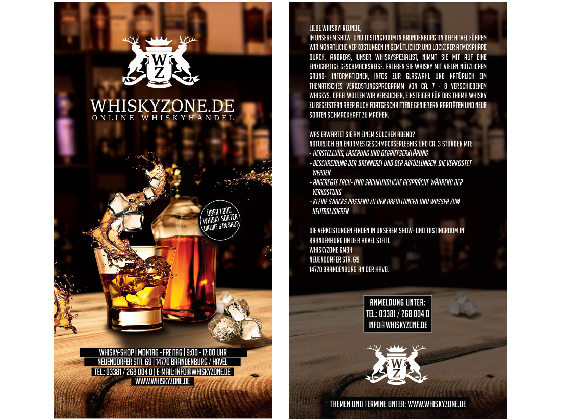 Flyer Whiskyzone