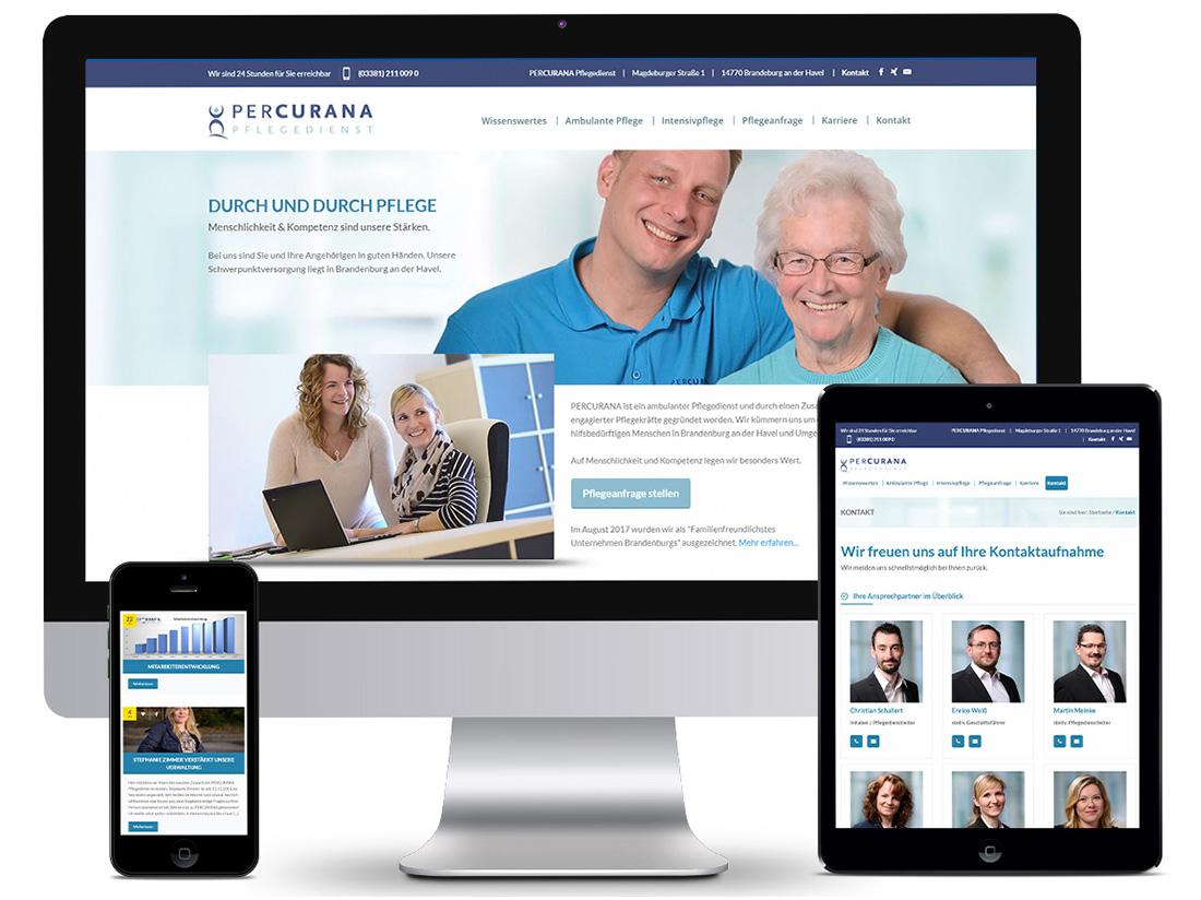 Responsive Webdesign - Percurana