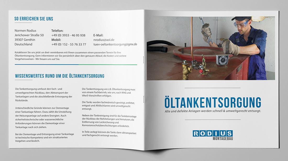 Flyer Rodius Montagebau