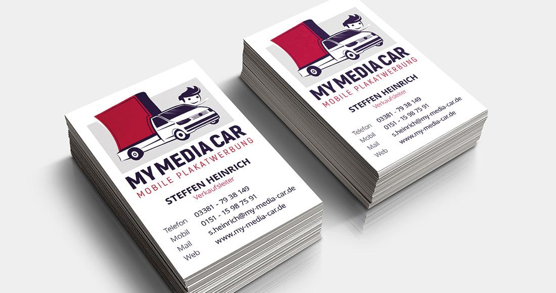 My Media Car - Corporate Design